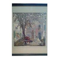 "Thomas Maitland Cleland - ""Spring, Summer, Autumn, Winter"" Prints (Set of 4)"