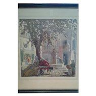 "Thomas Maitland Cleland - ""Spring, Summer, Autumn, Winter"" Prints (Set of 4)"