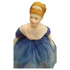 "Royal Doulton Blue ""Nina"" c.1968 Bone China"