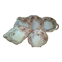 """Royal Albert """"Heather Bell"""" Serving Plates Collection"""