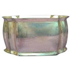 Art Deco Inspired Sterling Silver Napkin Rings - Set of 12 **STUNNING**