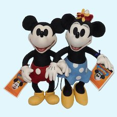 R. J. Wright Mickey & Minnie Mouse RJW