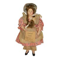 Becky Thatcher by Eubank Dolls 6.5 inch Vintage