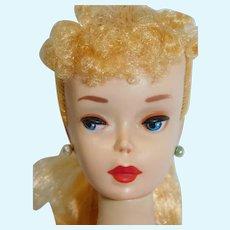 #3 Blonde Barbie w/ brown eyeliner in Box
