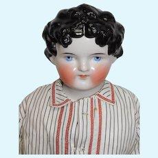 """28"""" ABG Dolly Madison China Doll 1890's"""