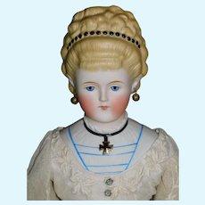 ABG Empress Augusta 1860-70's 25 inch