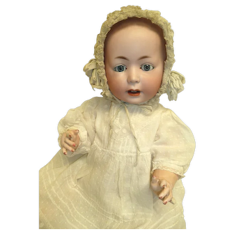 Antique German Bisque Lori Baby 19 inches by Swaine & Co # 232 11 c 1900