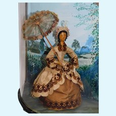 Miniature Exterior Diorama by Helen Bruce
