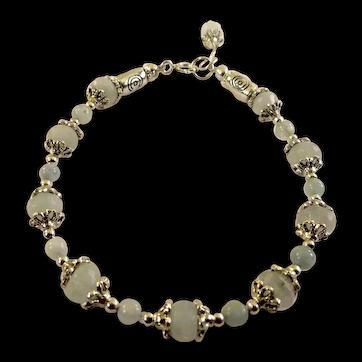 JFTS Natural Aquamarine Bracelet