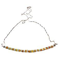 JFTS Larimar Ethiopian Opal Necklace