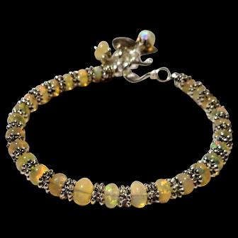 JFTS' Ethiopian Jelly Opal Bracelet