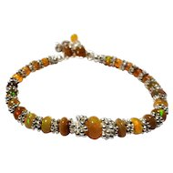 JFTS' Ethiopian Golden Yellow Opal Bracelet