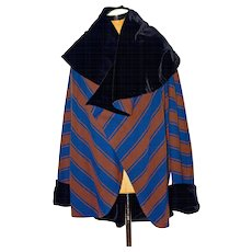 An Authentic 1990's Emanuel Ungaro Haute Couture Wrap Jacket