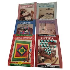 Quilting Books by Kathleen Eaton