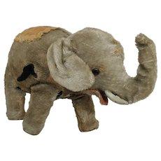 Vintage Children's Wind-Up Toy Elephant.