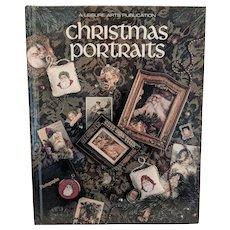 "Cross Stitch book ""CHRISTMAS PORTRAITS"" by Leisure Arts"
