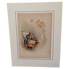 Frances Brundage Original Book Plate Print
