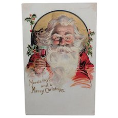 Santa Postcard Made in Germany Cr.1900s