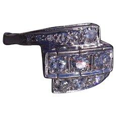 Antique Platinum Cocktail Style Ring