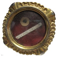 early St. Saint Gemma Galgani Reliquary Relic intact