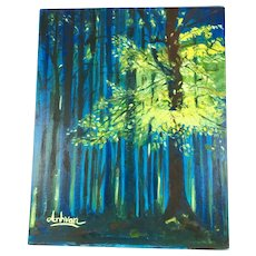 Vietnamese Artist Anh-Van Truong Modern Impressionism Painting Oil on Board
