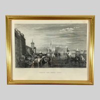 19th Century Engraving by J.T. Willmore after W. M. Turner Painting