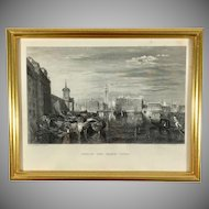 19th Century Engraving by J.T. Willmore after W. M. Turner's Painting