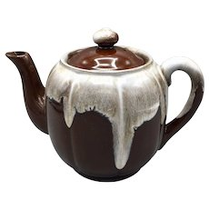 Japanese Brown Drip Glaze Teapot