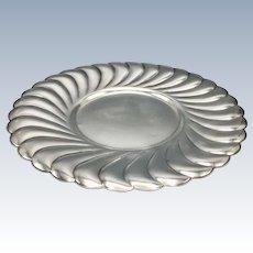 Mid Century Fine Silverplate Dish Plate WM Rogers