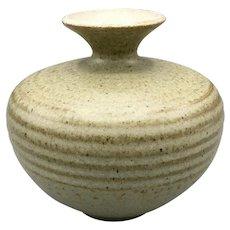 Japanese Kyoto Pottery Vase Glazed Ceramic