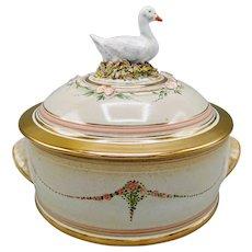 Ceramic 3-Piece Casserole Dish Pot by British Pottery Artist Gordon Fox