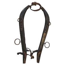 Wooden Hames -- Vintage Horse/Mule Yoke Harness with Wooden Hames