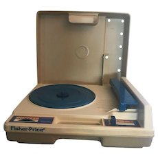 Fisher-Price Child's Record Player -- 1978 -- Tested and Works Great