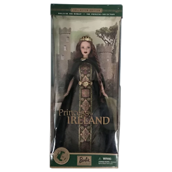 Princess of Ireland Barbie -- NRFB -- Never Removed from Box