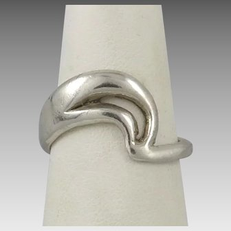 Sterling Silver Swoop Ring