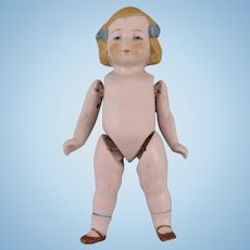 "All Bisque 5"" German Doll"