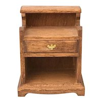 The House of Miniatures CHIPPENDALE Nightstand #40012 Colonial Dollhouse Furniture Built