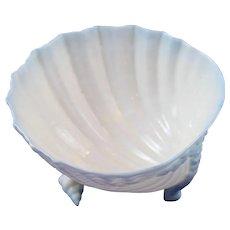 Rare Blue Belleek 2nd Period (1892/1926) Neptune Sugar Bowl Mint Condition