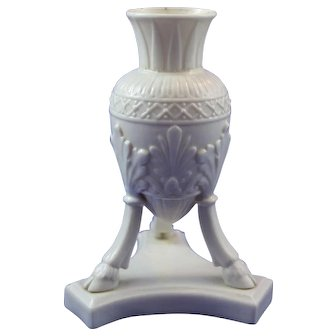 Rare Belleek Small Size 1st Period (1863/1891) Amphora Vase