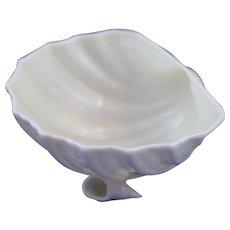 Belleek Cardium on Shell Salt. Mint Condition 4th Period