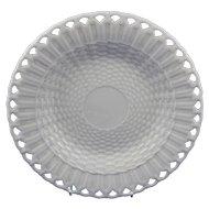 Belleek 1st Period Basket Weave Plate