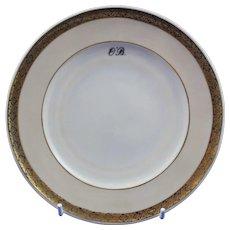 Belleek Personalised Ring Handled Plate - Vintage