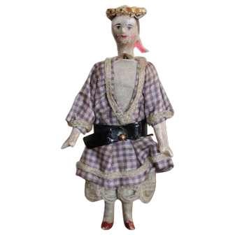 A Rare and Unusual Grodnertal Doll