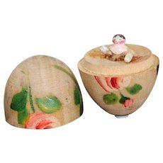 The Smallest Doll In The World Wooden Peg Doll In Egg
