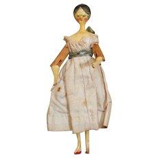 Wonderful 1830's Grodnertal Doll