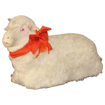 Gorgeous French Lamb For Your Doll, 19th Century