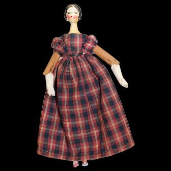 Lovely Grodnertal Doll