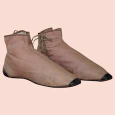 Reserved  -   Ladies 1840's Side Laced Ankle Boots