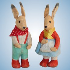 A Pair Of Sweet German Kersa Rabbits