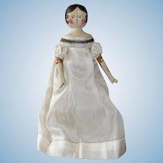 Pretty Grodnertal Doll,  8 1/2 inches Tall